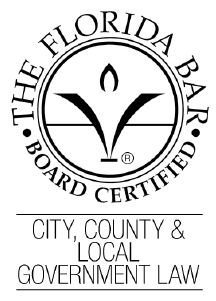 Lonnie Groot - Board Certified by the Florida Bar in City, County & Local Government Law